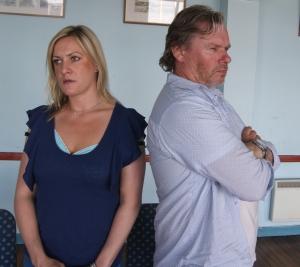 More marital bliss, Diana and Paul (aka Heidi and Chris)